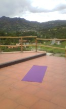 Madre Tierra, exercise space...lovely huh?