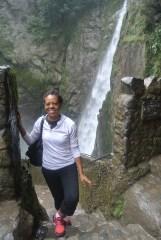 Pailon Del Diablo/Devil's Cauldron waterfall