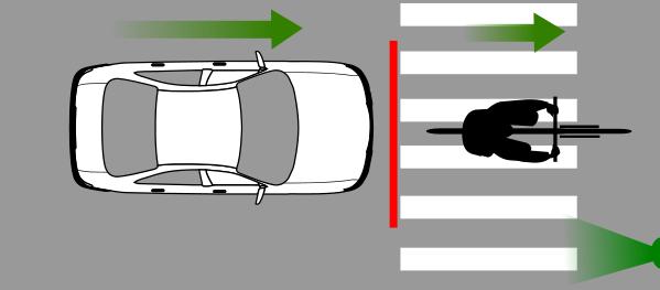 El automóvil tiene mayor potencia y aceleración que una persona