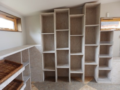 New shelves for playing shops