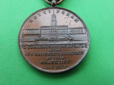 Opening of new University buildings - Nottingham 1928