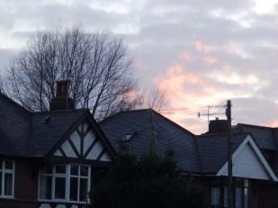 Sunset in Nottingham