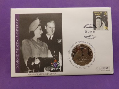 Queen Coin on Cover