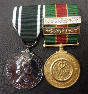Ambulance Long Service Medals