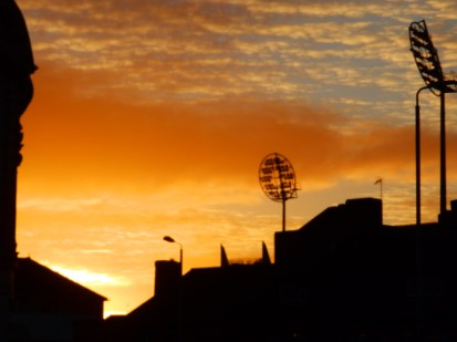 Sunrise, Trent Bridge