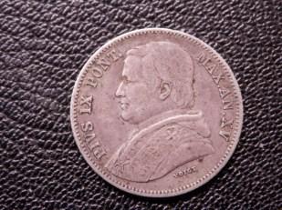 Papal 20 Baiocchi 1860