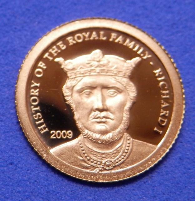Gold Medallion - Richard the Lionheart