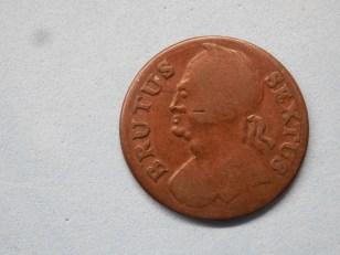 Brutus Sextus Evasion halfpenny