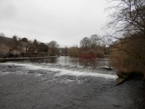 The river Wye at Bakewell