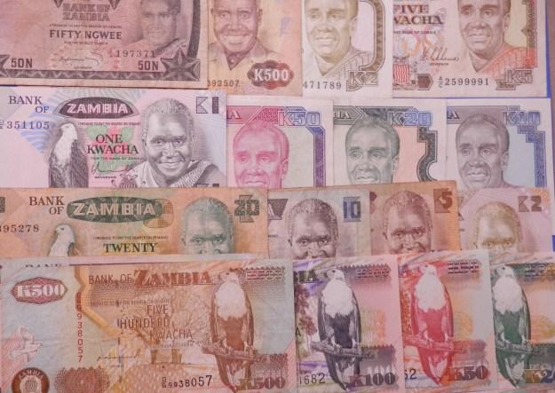 Banknotes - Zambia