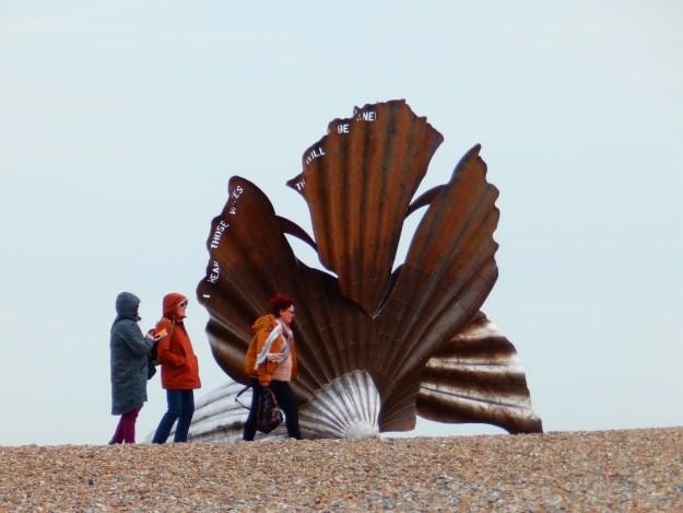 The Scallop at Aldeburgh