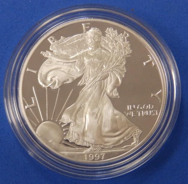 1997 Silver Dollar