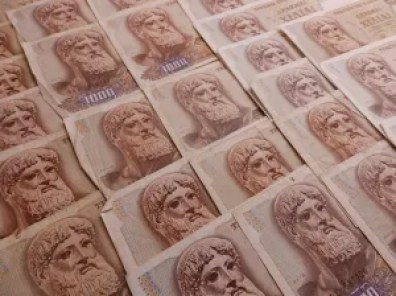 Greek banknotes