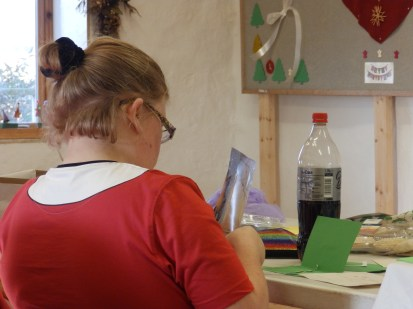 Hard at work in the Ecocentre