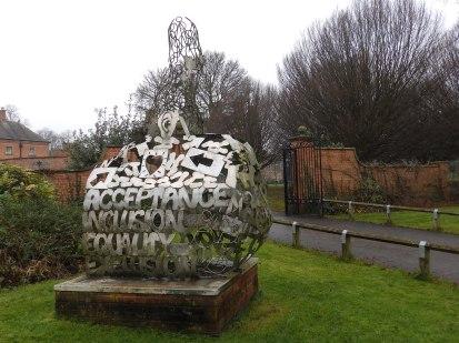 Sculpture at Rufford