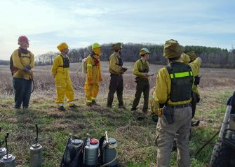 Burn Briefing photo by Mary Kay Baum