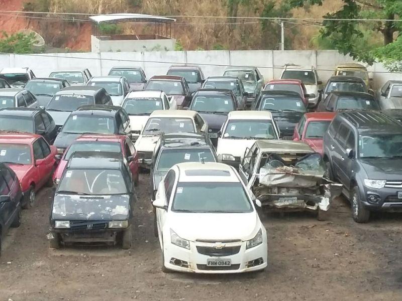 leilão Detran carros