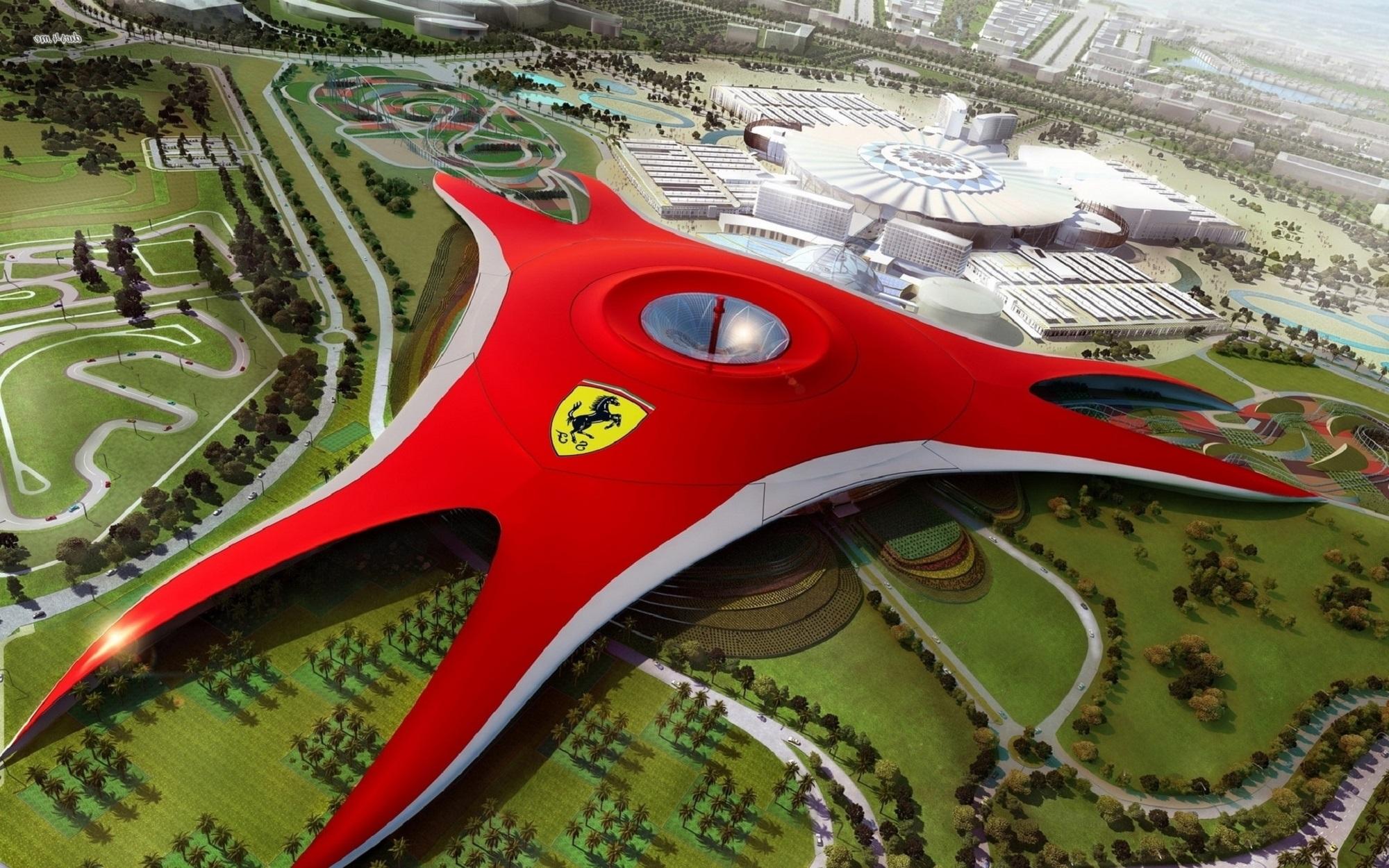 O parque temático Ferrari World está chegando à América do Norte, e Orlando será provavelmente o maior candidato