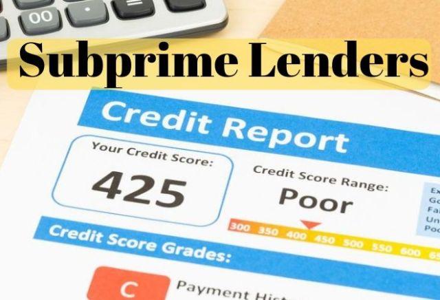 Subprime-lenders