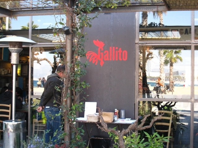 Restaurante gallito y pez vela en barcelona for Hotel w barcelona restaurante