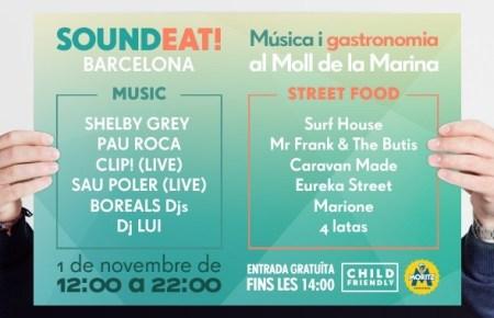 SOUNDEAT BARCELONA EVENTO NOVIEMBRE 2014 QUE SE CUECE EN BCN