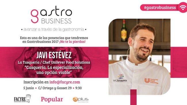 Javi Estévez, Chef La Tasquería