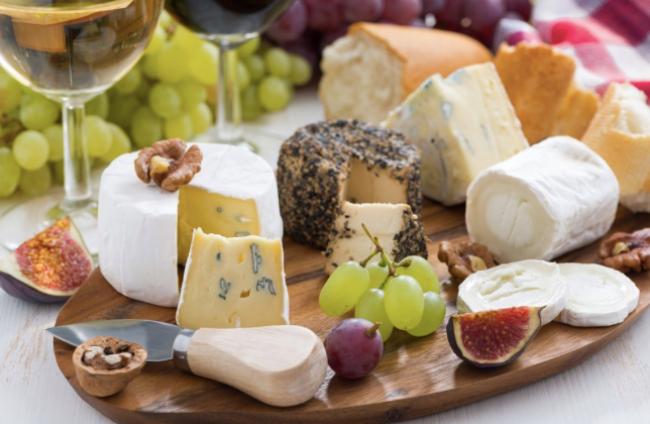 Maridajes de queso