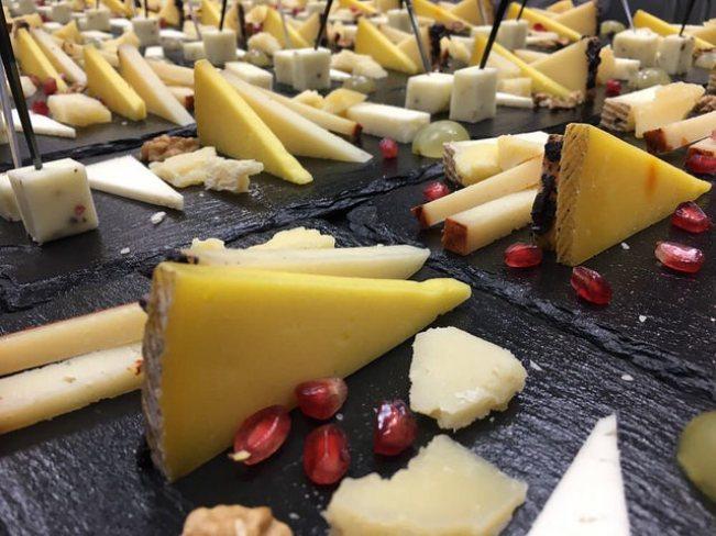 Tabla de queso, el mejor postre