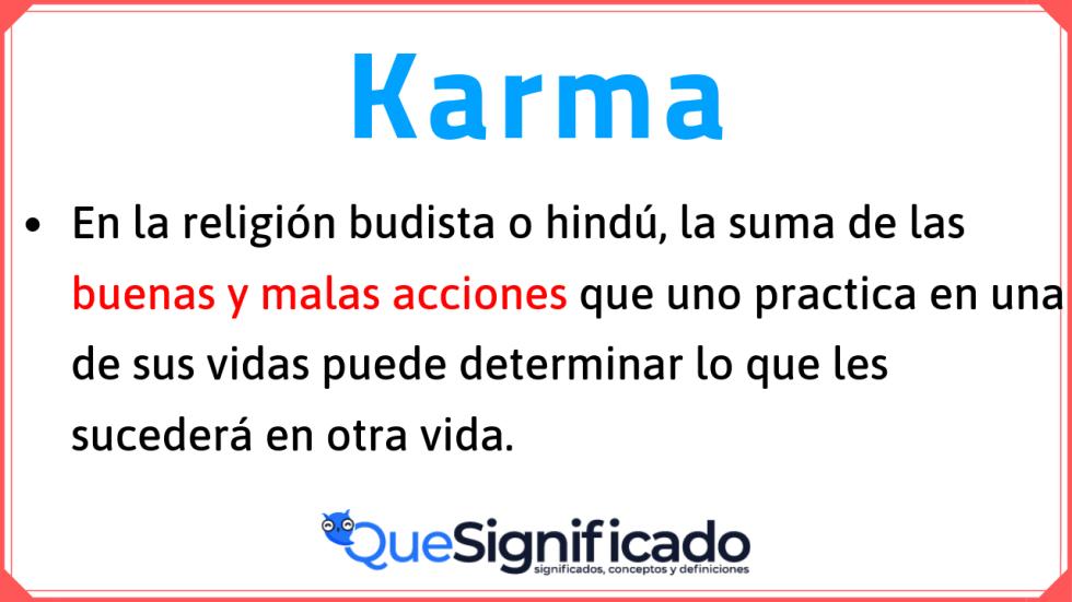 karma-significado