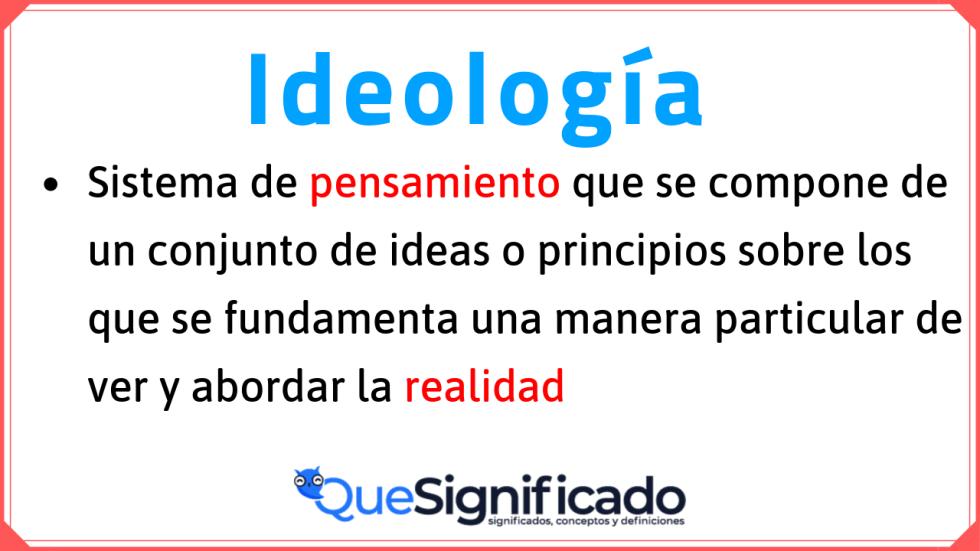 definición-de-ideología