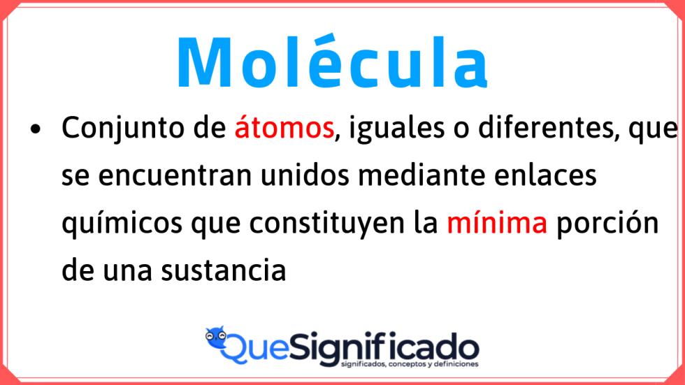 definición-de-molécula