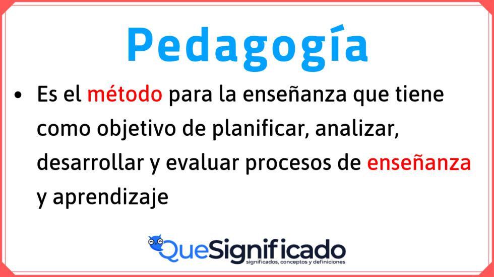 definición-de-pédagogía
