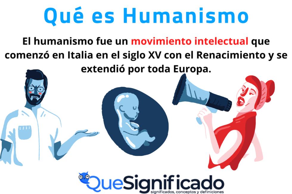 Qué es Humanismo Significado Concepto Definicion