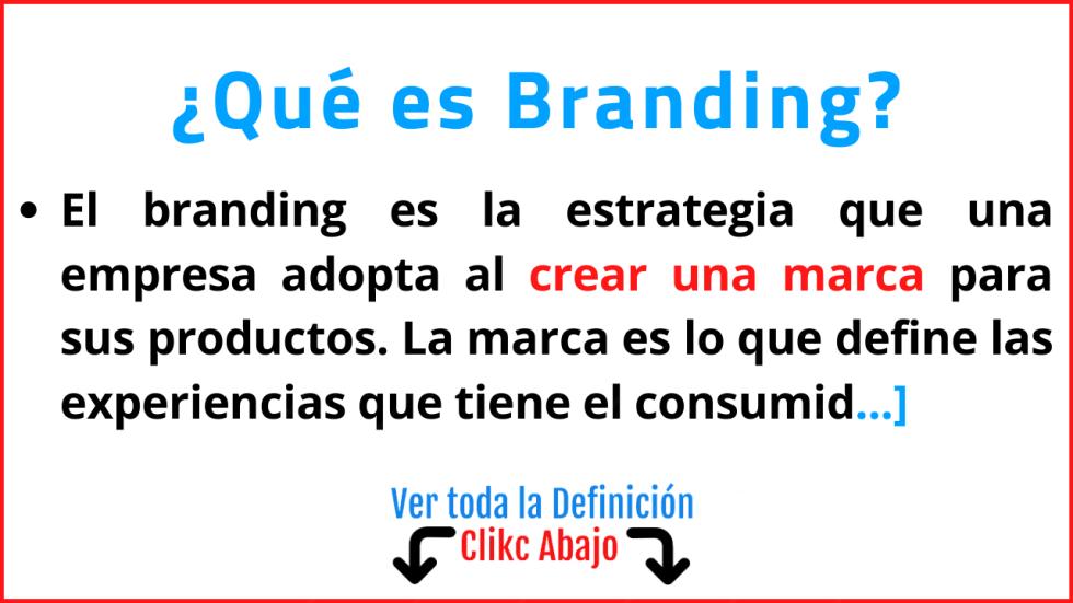 que es branding significado concepto tipos ejemplos importancia