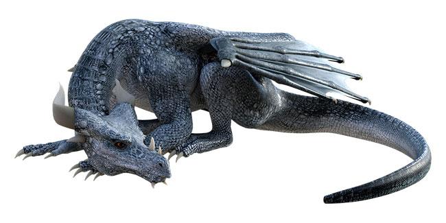 Soñar con dragones negros