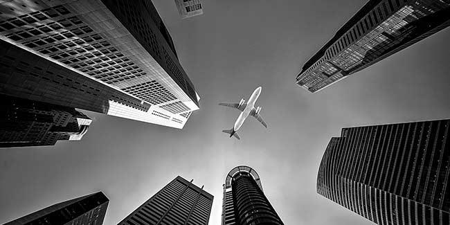Soñar con avión volando