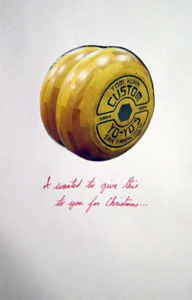 I wanted to give this to you for Christmas …