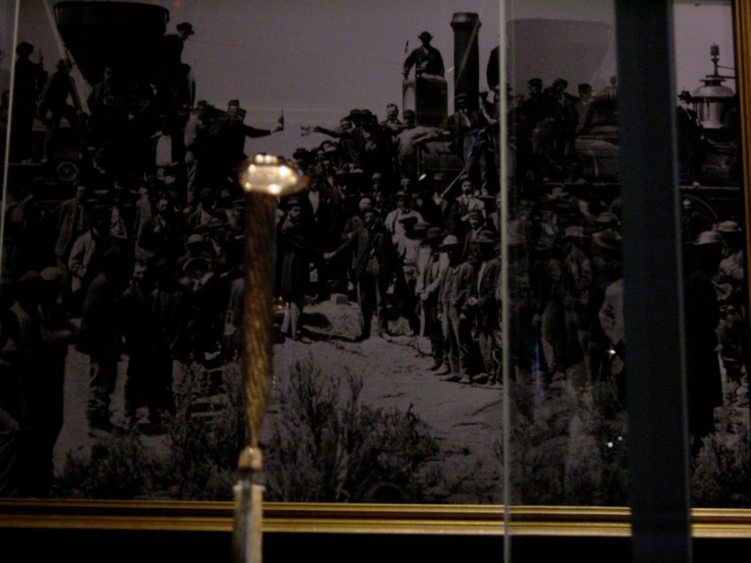 "The ""Lost"" spike and the completion of the Transcontinental Railroad"