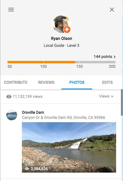 My profile on Google Maps.