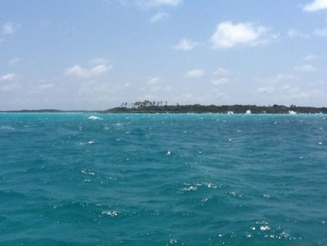 Rough Seas in Hawksbill Cay