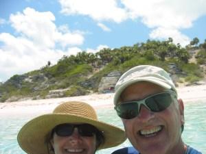 Driftwood Beach at Shroud Cay