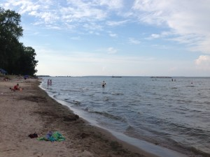 Beach on Lake Erie