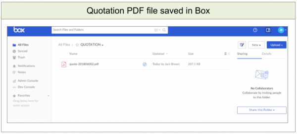 Fully Automate the File Management with BOX API - Questetra