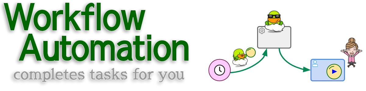 Workflow Automation completes tasks for you.