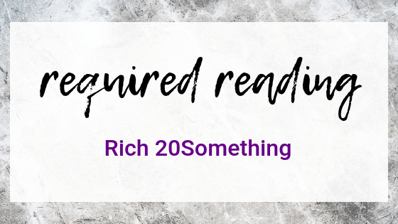 Required Reading: Rich 20Something by Daniel DiPiazza