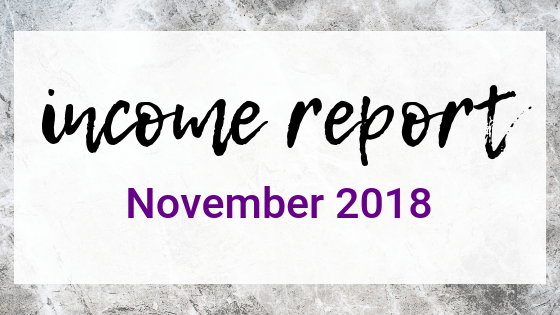 November 2018 Income Report on Quest for $47