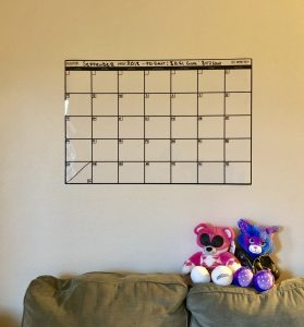 August 2018 Income Report Wall Calendar on Quest for $47
