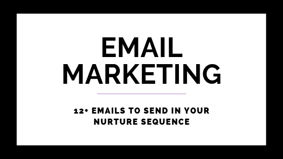 12 Emails To Send In Your Nurture Sequence on Quest for $47 Header