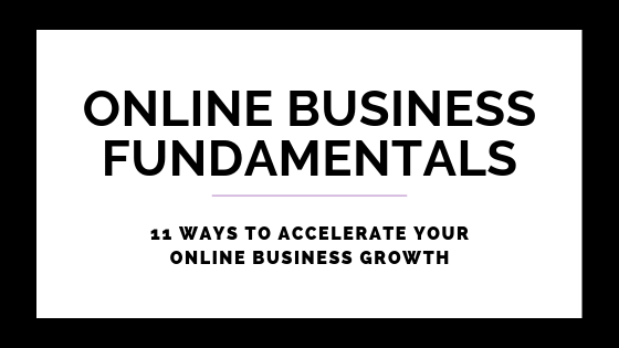 11 Ways To Accelerate Your Online Business Growth
