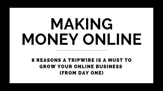 8 Reasons A Tripwire Is A Must To Grow Your Online Business (From Day One)